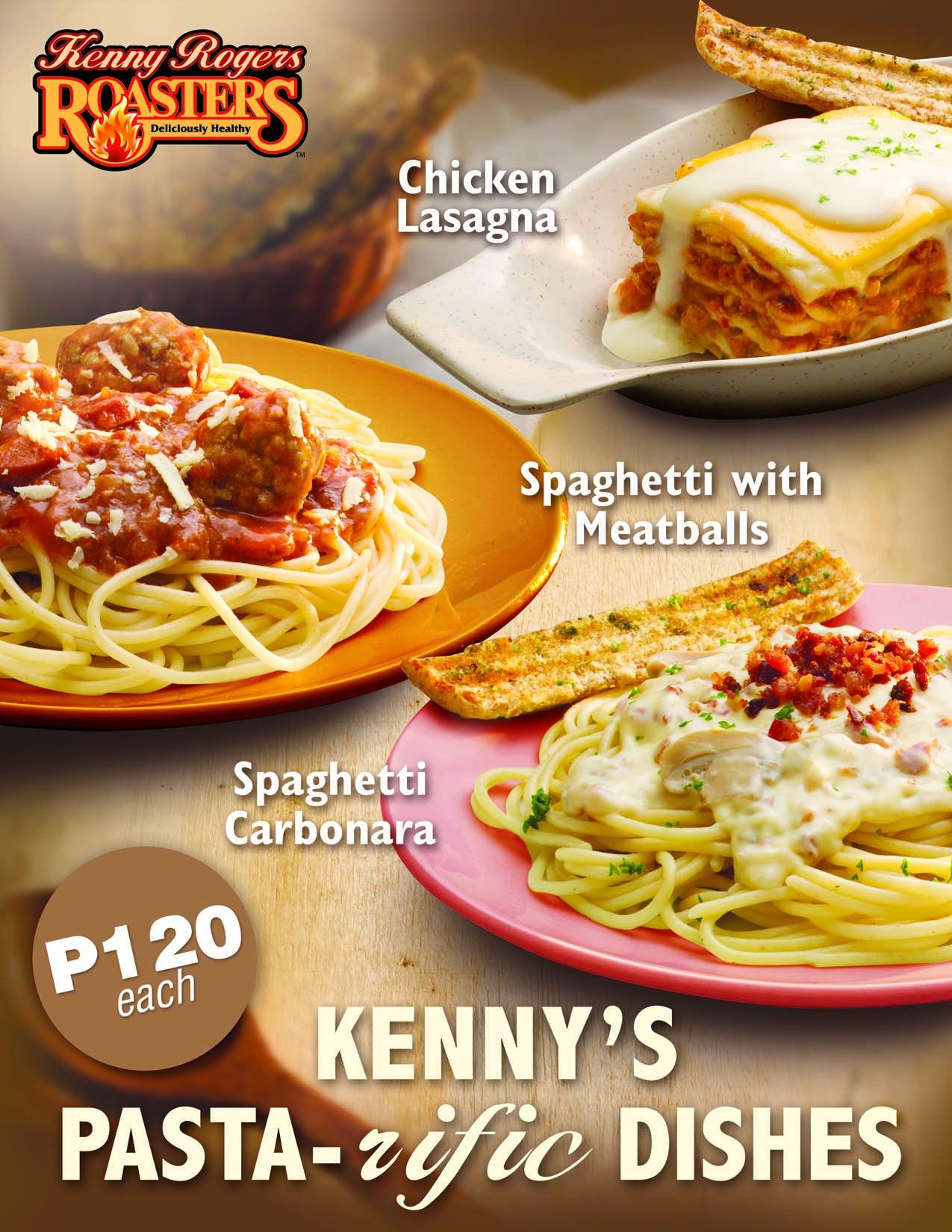 Kenny Rogers Pasta - Food Styling Manila